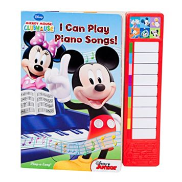 Disney Mickey Mouse Clubhouse I Can Play Piano Songs Book