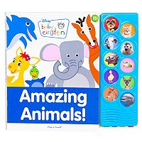 Baby Einstein Amazing Animals Play-A-Sound Book
