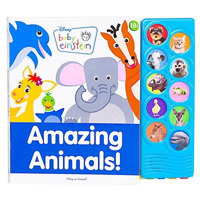 Baby Einstein Amazing Animals Play-A-Sound Book