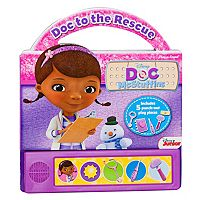 Disney Doc McStuffins: Doc to the Rescue Book