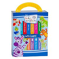 Baby Einstein 12 pc Board Book Block Set