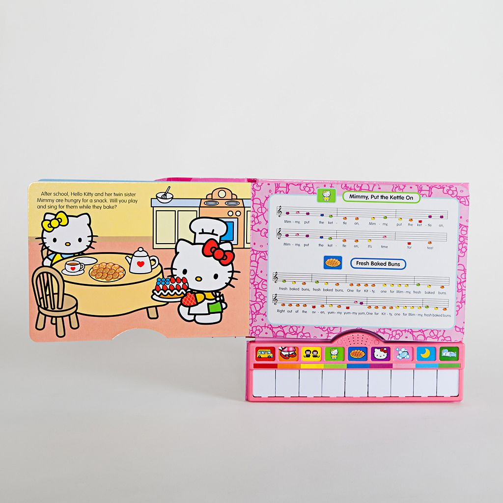 Hello Kitty® I Love to Play Piano Book