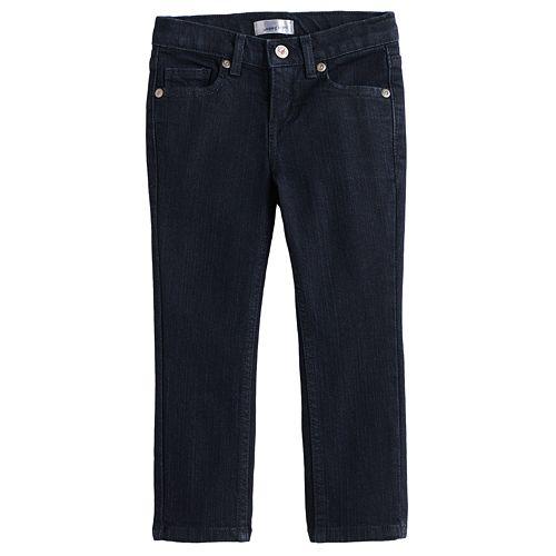Toddler Girl Jumping Beans® Dark Wash Skinny Jeans