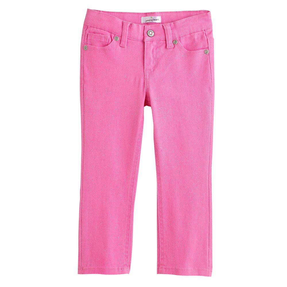 Toddler Girl Jumping Beans® Glitter Skinny Jeans