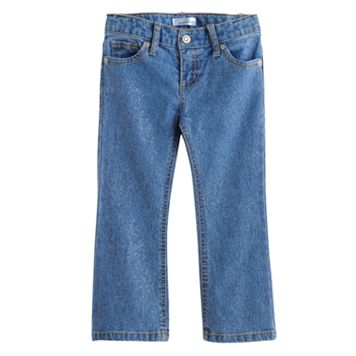 Toddler Jumping Beans® Glitter Bootcut Jeans
