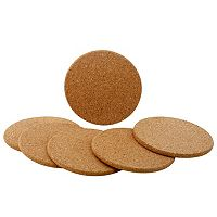 Food Network™ 6 pc Cork Coaster Set