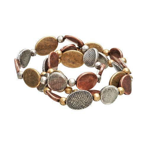 Bead Stretch Bracelet Set
