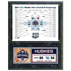 UConn Huskies 2014 NCAA Men's Basketball Champions 12' x 15' Plaque