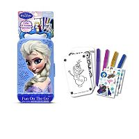 Disney Frozen Elsa Fun On the Go Activity Set