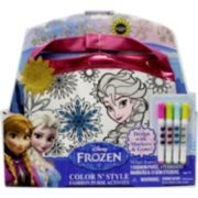 Disney Frozen Elsa & Anna Color & Style Purse Set