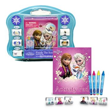 Disney Frozen Finish the Sticker Scene Activity Set