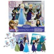 Disney Frozen Elsa & Anna Magnetic Paper Doll Set