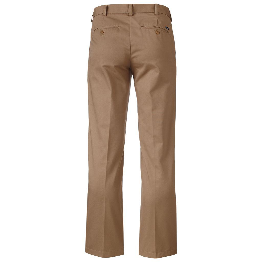 Men's IZOD Heritage Chino Slim-Fit Wrinkle-Free Flat-Front Pants