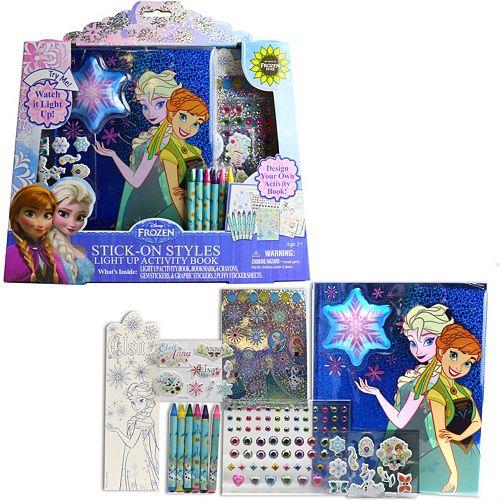 Disney Frozen Elsa & Anna Light Up Activity Book