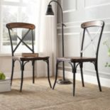 HomeVance Glencoe 2-pc. Side Chair Set