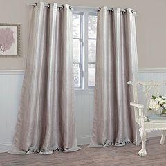 Laura Ashley Berkley Textured Window Curtains - 40' x 84'