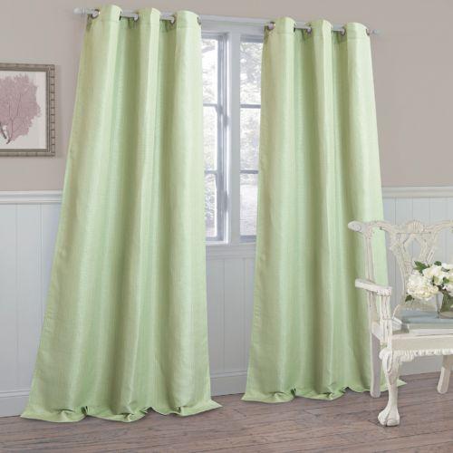 Laura Ashley Berkley Textured Curtains - 40'' x 84''