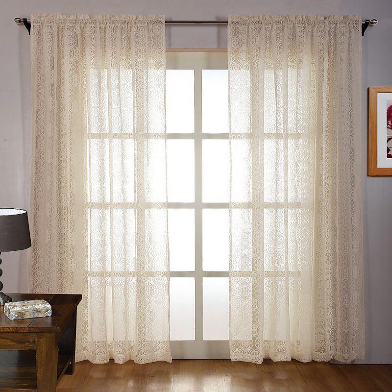 Machine Wash Panel Curtain Kohl S