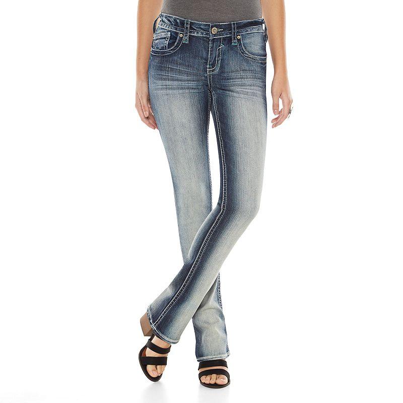Hydraulic Lola Micro Boot Cut Jeans - Juniors (Blue)
