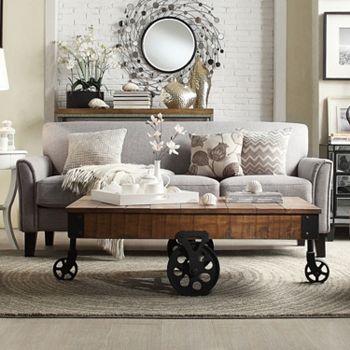 HomeVance Remmington Sofa + $90 Kohls Cash