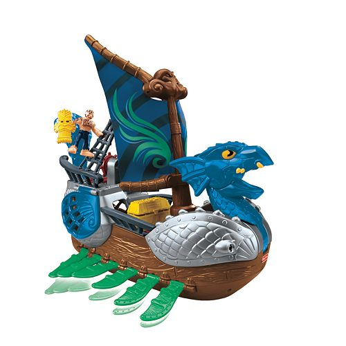 Imaginext Serpent Pirate Ship by Fisher-Price