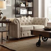 HomeVance Vanderbilt Tufted Love Seat