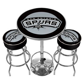 San Antonio Spurs Ultimate Gameroom Combo 3-pc. Pub Table & Stool Set