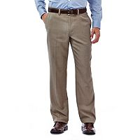 Men's Haggar® Straight-Fit Performance Flex-Waist Pants