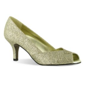 Easy Street Ravish Women's Peep-Toe Dress Heels