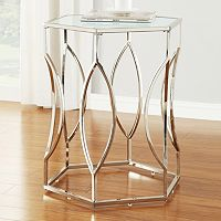 HomeVance Kissena Accent Table