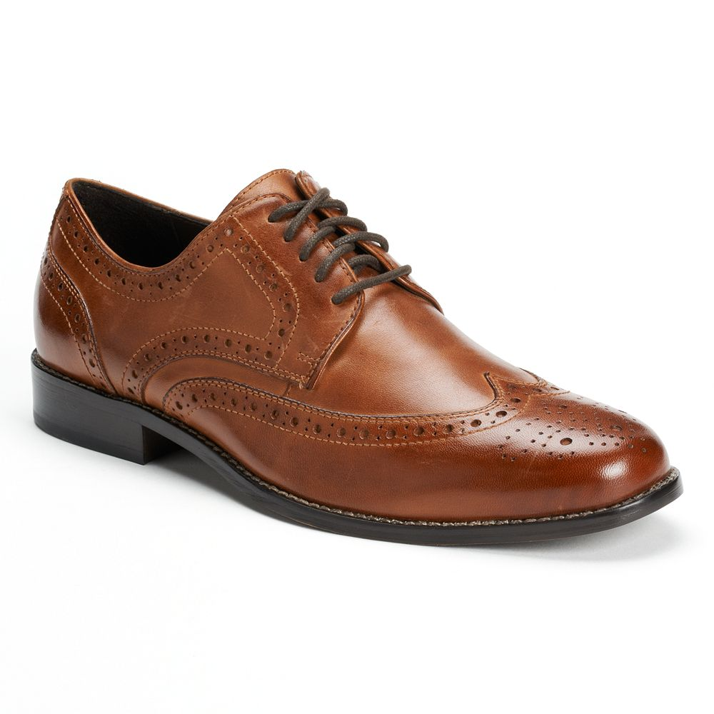 Nunn Bush® Nelson Men's Wingtip Oxford Dress Shoes