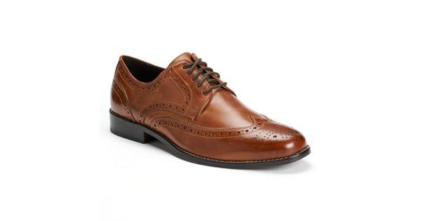 Nunn Bush Nelson Men S Wingtip Oxford Dress Shoes