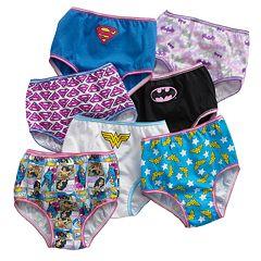 Justice League 7-pk. Hipster Panties - Girls