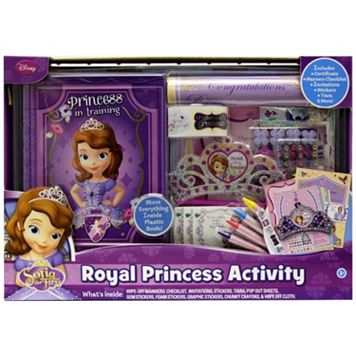 Disney Sofia the First Royal Princess Activity Set