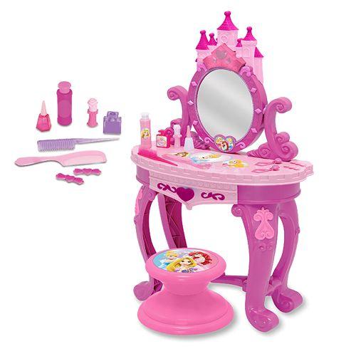 Disney Princess Sparkling Light Amp Sound Vanity Set 39 99