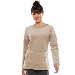 Women's Tek Gear® Velour Dolman Pullover