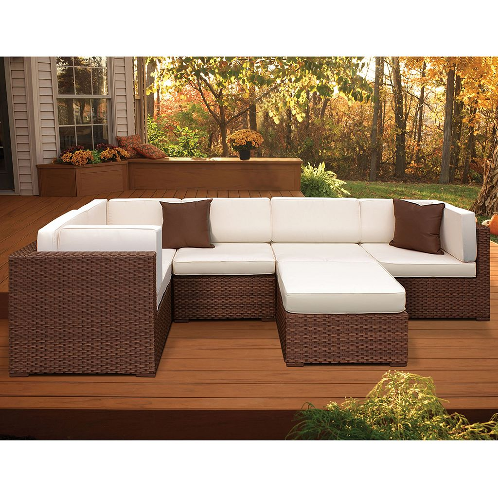 Atlantic Venetian 6-pc. Sectional Patio Set - Outdoor