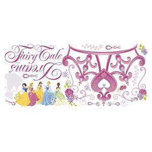 Disney Princess Crown Peel & Stick Wall Stickers