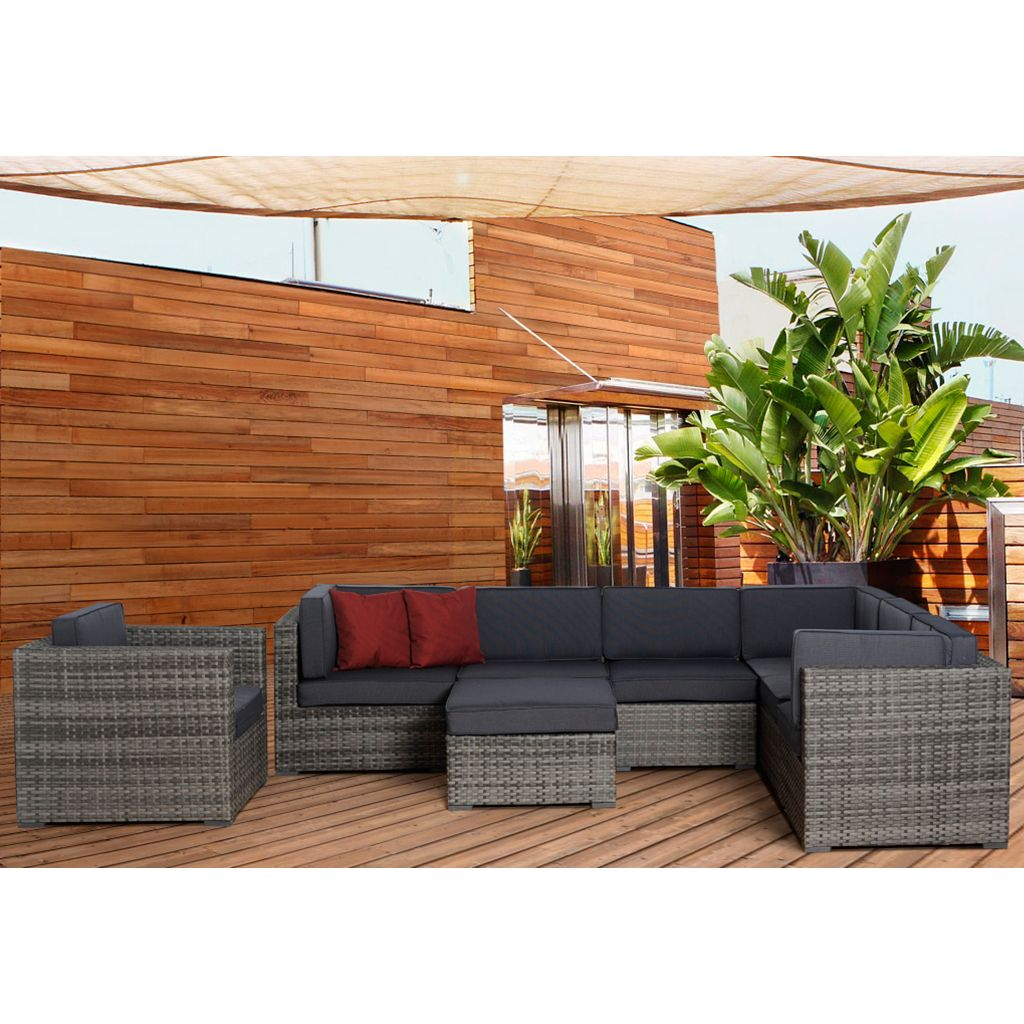 Atlantic Halle 8-pc. Patio Set - Outdoor