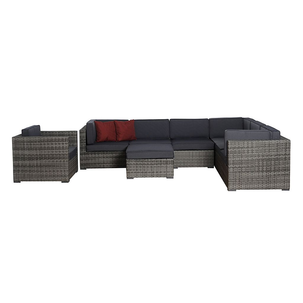 Atlantic Halle Sectional 8-pc. Patio Set - Outdoor