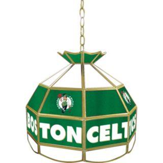 "Boston Celtics 16"" Tiffany-Style Lamp"