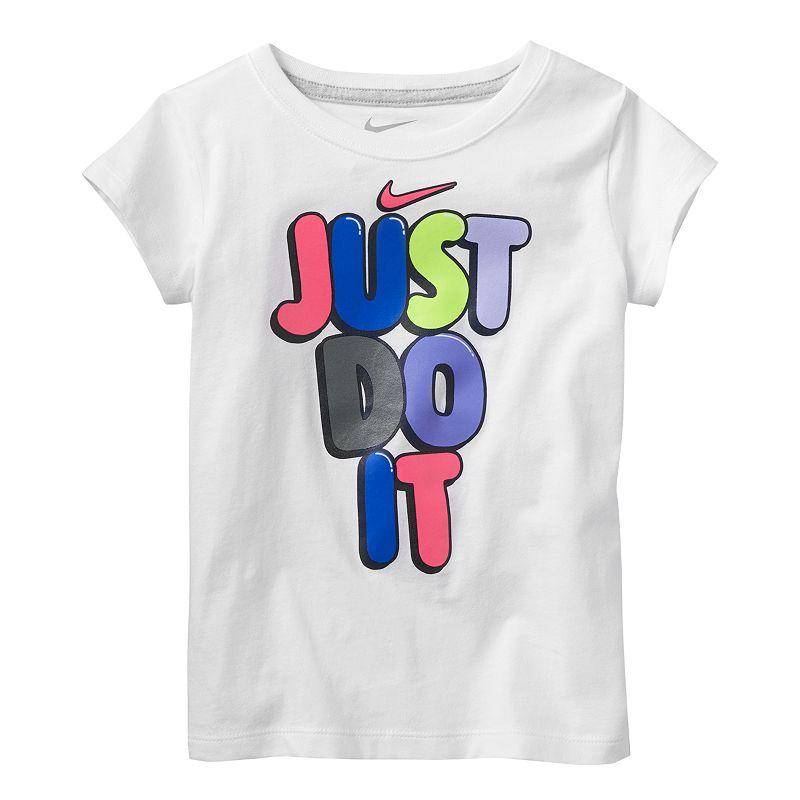 Just do it Nike Shirts Girls Nike Quot Just do it Quot Tee Girls
