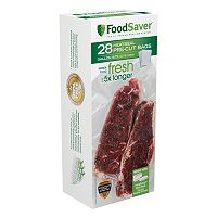 FoodSaver 28 ct2 pkPre-Cut Heat-Seal Bags