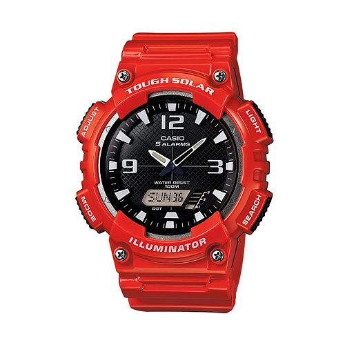 Casio Men's Tough Solar Analog & Digital Watch