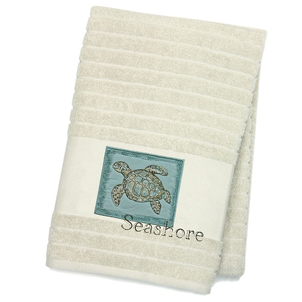 Chevron Beach ''Seashore'' Bath Towel