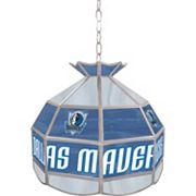 Dallas Mavericks 16' Tiffany-Style Lamp