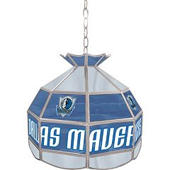 Dallas Mavericks 16' Tiffany-Style Lamp