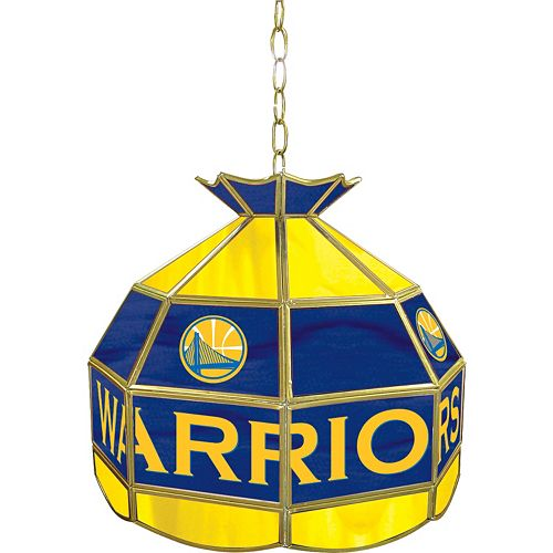 "Golden State Warriors 16"" Tiffany-Style Lamp"