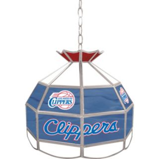"""Los Angeles Clippers 16"""" Tiffany-Style Lamp"""