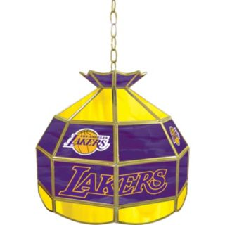 "Los Angeles Lakers 16"" Tiffany-Style Lamp"